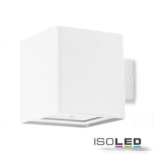 Isoled LED-Wandleuchte 2x5W IP54 weiß/anthrazit